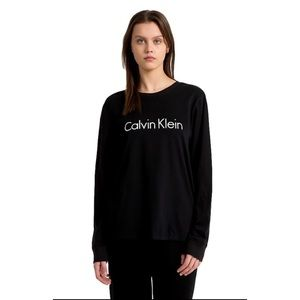 CALVIN KLEIN Cotton black Long Sleeve Shirt